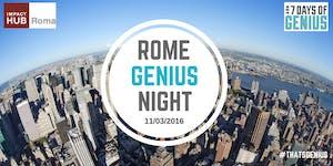 Aperitivo Rome Genius Night