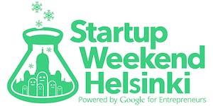 Startup Weekend Helsinki VII