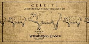 WhistlePig Dinner Pairing at Celeste