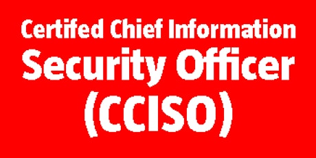 Certified Chief Information Security Officer (CCISO) bilhetes