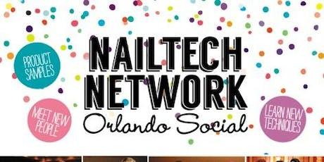 Network Nailtech Orlando Social tickets