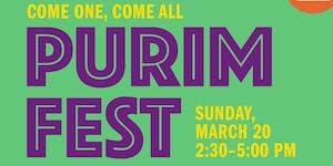 PurimFest 2016!