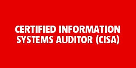 Certified Information Systems Auditor (CISA) bilhetes