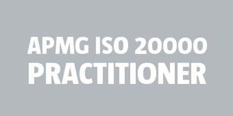 ISO 20000 Practitioner | APMG bilhetes