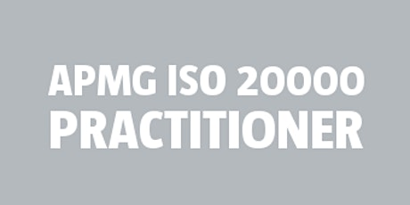 ISO 20000 Practitioner | APMG tickets