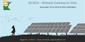 MnSEIA Midwest Gateway to Solar 2016