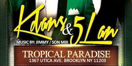 "Mr.Haiti presents ""KDANS & 5LAN LIVE!"" tickets"