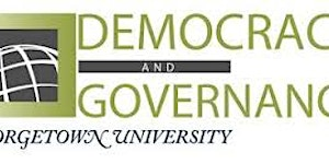 2016 MA in Democracy and Governance Open House