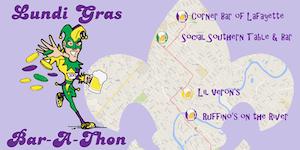 RaceThread.com Lafayette Lundi Gras Bar-A-Thon