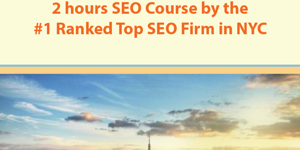 SEO Training by the #1 Best SEO Firm in NYC on Google for clients, CMO, CEO, Bloggers, and students