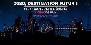 2030, Embarquez pour le métro du futur - Hackathon...