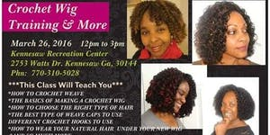 Crochet Wig Training Class & more