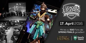 League of Legends *Mega Viewing Party* // Dortmund //...