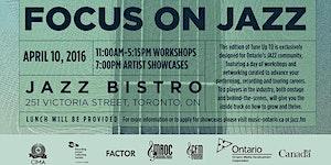 MusicOntario & JAZZ.FM91 present Tune Up Toronto:...