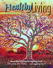 Healthy Living Magazine/Expo Mass & RI by Candita Mamet CEO. logo