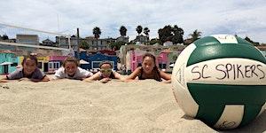 Santa Cruz Spikers Volleyball Camp 2016