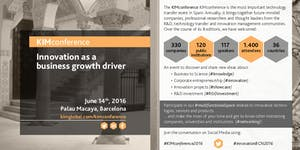 """KIMconference 2016 """"Innovation as a business growth..."""
