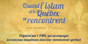 """Gala-Bénéfice """"Quand l'islam et le Québec se..."""