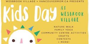 Kids Day at Wesbrook Village