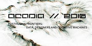 ACADIA 2016 Workshops