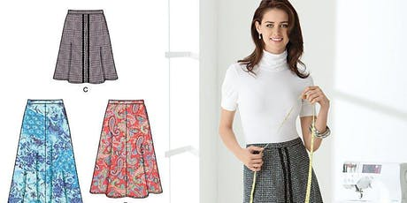 Make a Basic Skirt from a printed pattern+ tickets