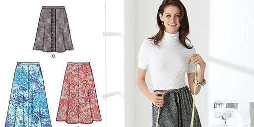 Make a Basic Skirt from a printed pattern+
