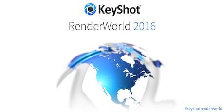 KeyShot RenderWorld tickets