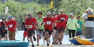Volunteer for the Great Russian River Race