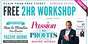 [FREE WORKSHOP] - Earn Your First $1K Online...