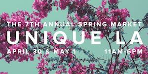The 7th Annual UNIQUE LA Spring Market