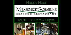 McCormick & Schmick's Happy Hour w/ Houston's Ladies...