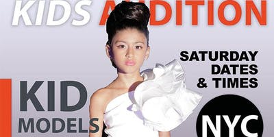 event in New York City: KIDS FASHION SHOW AUDITION - KIDS 9 TO 15 YEARS OLD MODEL OPEN CALL AUDITION IN NYC