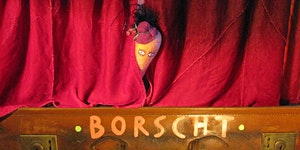 Theatre Borscht - performing vegetables pop-up dinner...