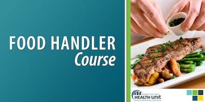 In-Class Food Handler Course (Windsor)