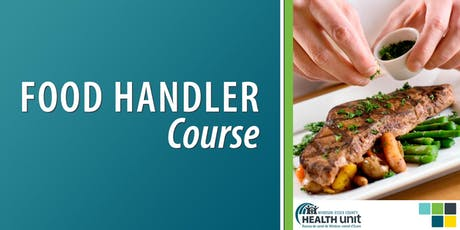 Evening In-Class Food Handler Course (Windsor, 2 day) tickets