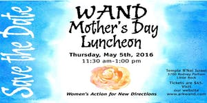 Arkansas WAND 13th Annual Mother's Day Luncheon