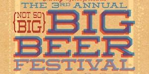 Not So Big BIG Beer Fest 2016