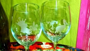 Sip in Style: BYOB Wine Glass Etch Class