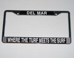 Where the Turf Meets The Surf License Frame