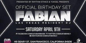 04.09.16 | A NIGHT AT HAWTHORN WITH DJ FABIAN