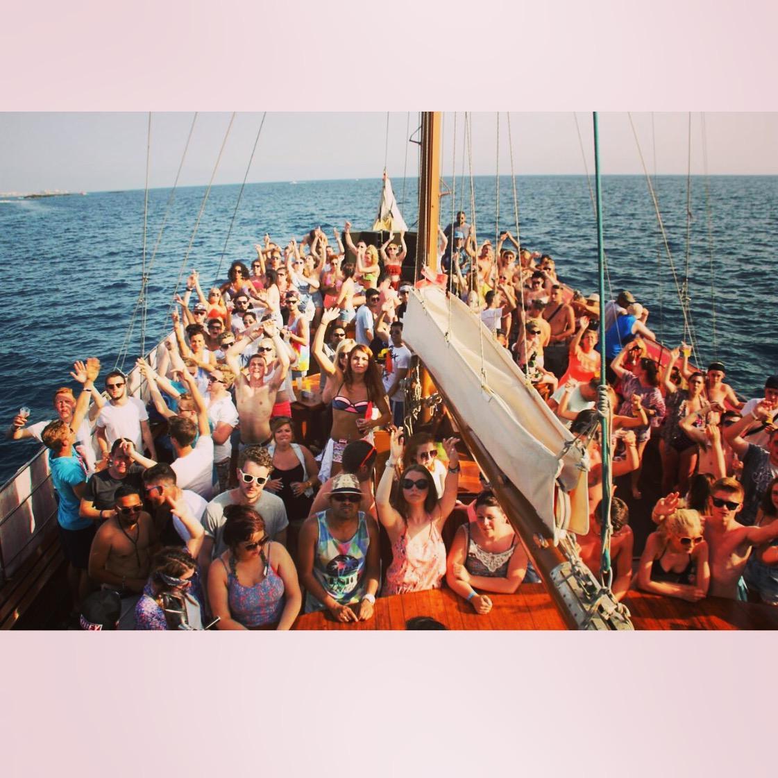 Love Ibiza Boat Party (Tenerife)