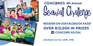 Concord's 4th Annual Seawall - Friends' Challenge...