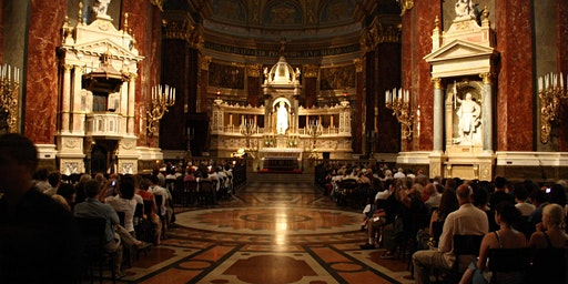 Organ concert in the St Stephen's Basilica