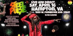 Reggae  Splash featuring Steel Pulse and more