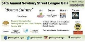 34th Newbury Street League Gala - Boston Culture: Art,...