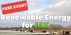 Renewable Energy for MK: free event