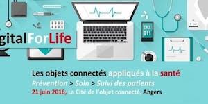 """Journée """"Objets connectés en Santé"""" - ANGERS"""