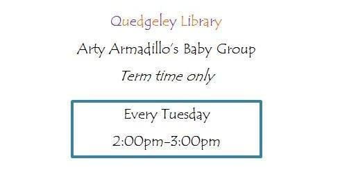 Quedgeley Library - Arty Armadillos