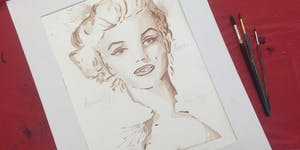 Wet Palette Paint Party - Paint Marilyn Monroe with...