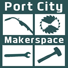 Events at Port City Makerspace logo